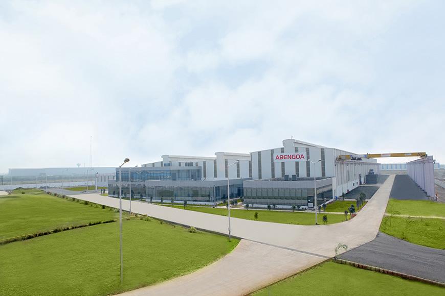 Nuevo centro de fabricación de estructuras metálicas en la India