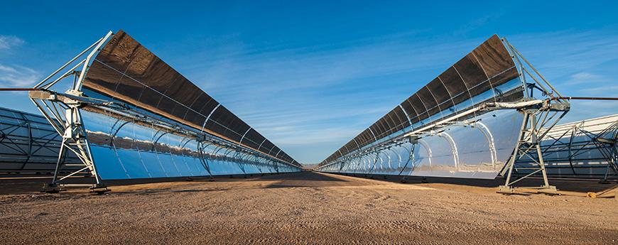 Mojave Solar, la segunda planta cilindroparabólica más grande del mundo, entró en operación 2014